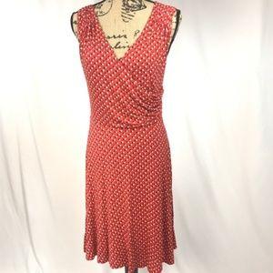 Boden Georgia Jersey Knit Dress Size 10L